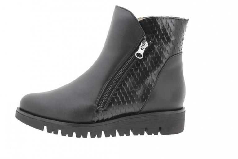 Ankle boot Leather Black 9907