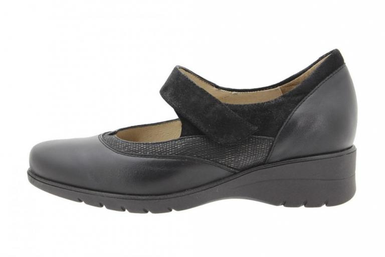 Mary-Jane Leather Black 9957