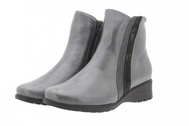 Ankle boot Leather Grey 9973
