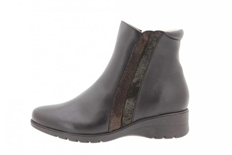 Ankle boot Leather Brown 9973