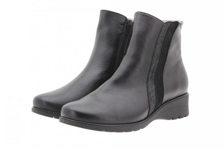 Ankle boot Leather Black 9973