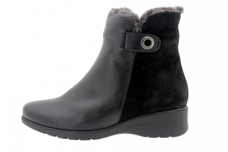Ankle boot Leather Black 9974