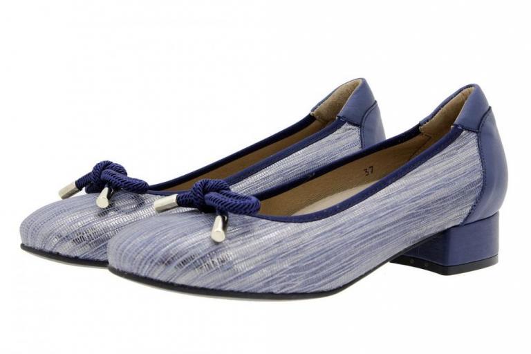 Flat shoe Snake Blue 1724-T